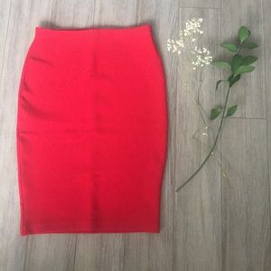 Forever 21 Red Bodycon skirt